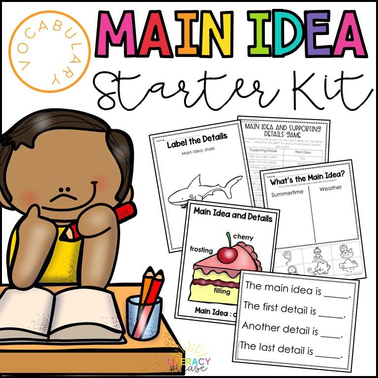 main idea lessons