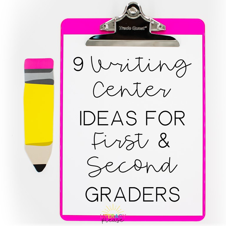 9 ideas for writing centers