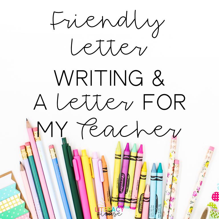 Google Friendly Letter Writing