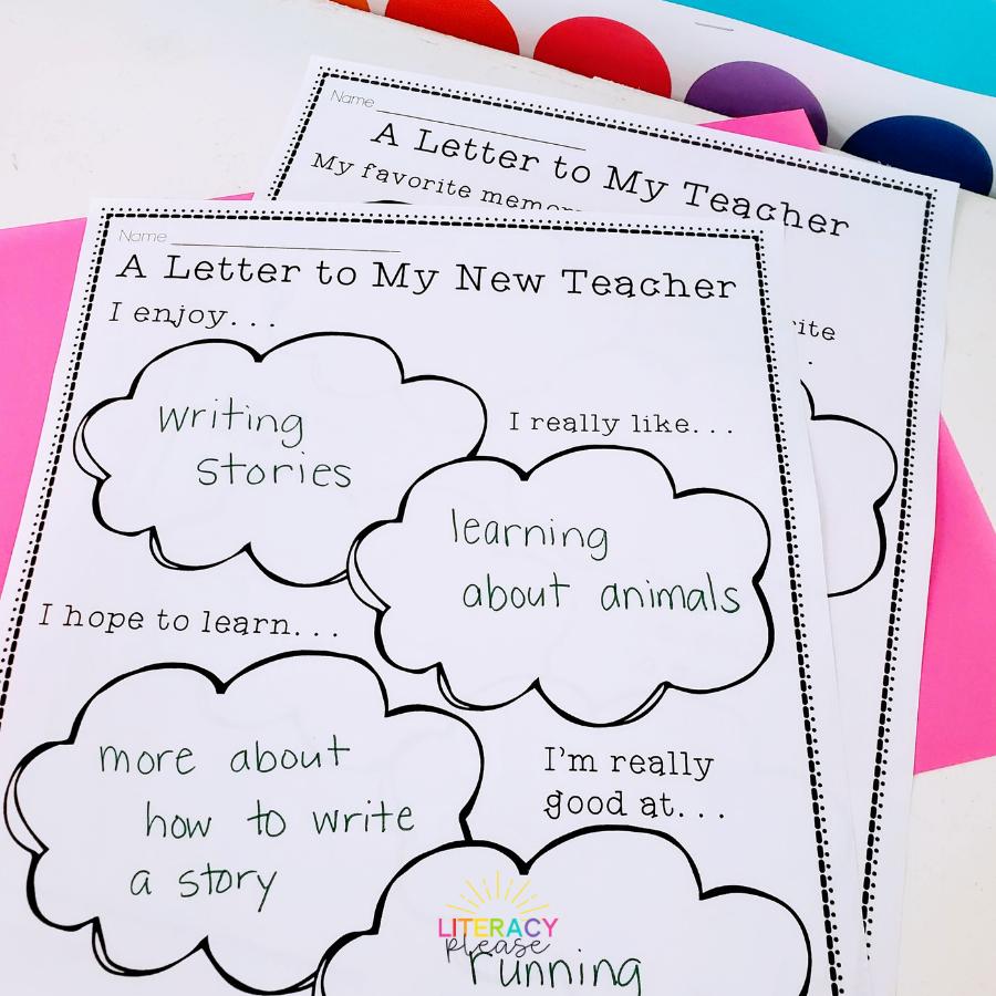 Google Letter for My Teacher