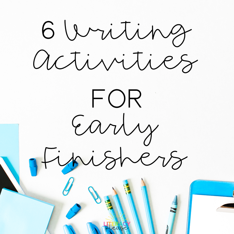 Google Writing Activities