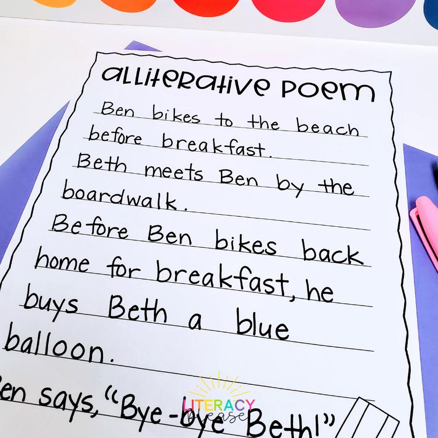 Google Alliteration Poem