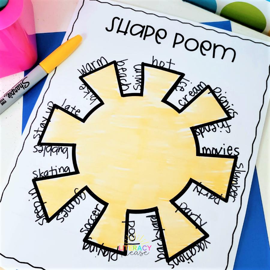 Google Poetry Activities for 2nd Grade