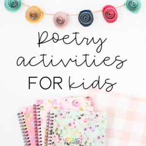 Poetry Activities for Kids