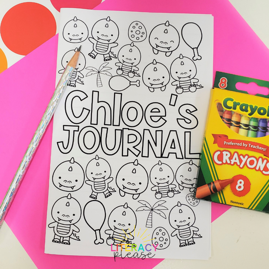 Google Writing Journals for Kids