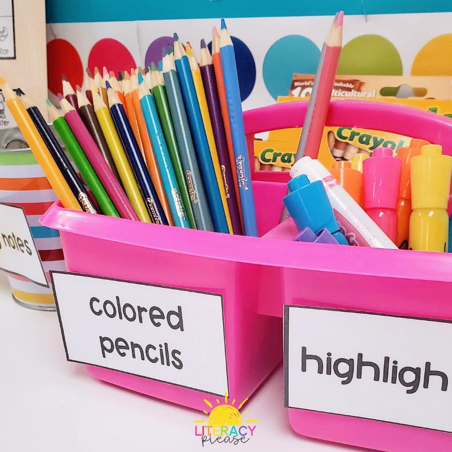 Google Organized Classroom Environment