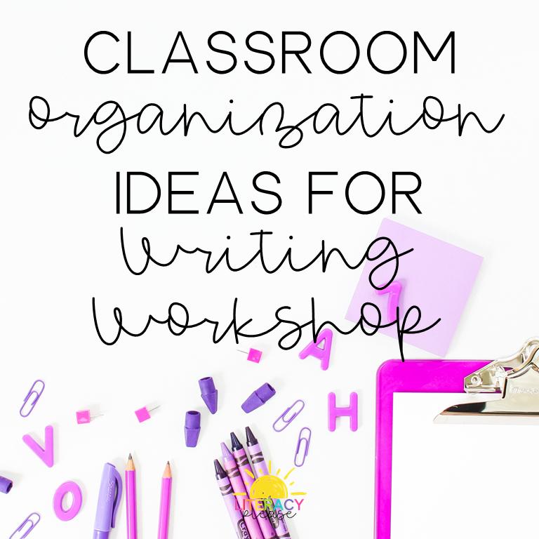 Google Classroom Organization for Writing Workshop